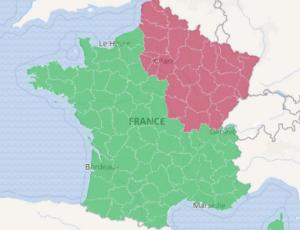 Zones France